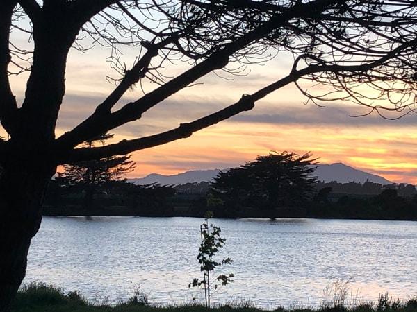 Sunset Over Mount Tamalpais Art | Off The Edge Art