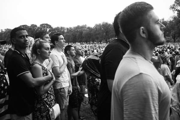 National Anthem, National Mall Art | Martin Geddes Photography
