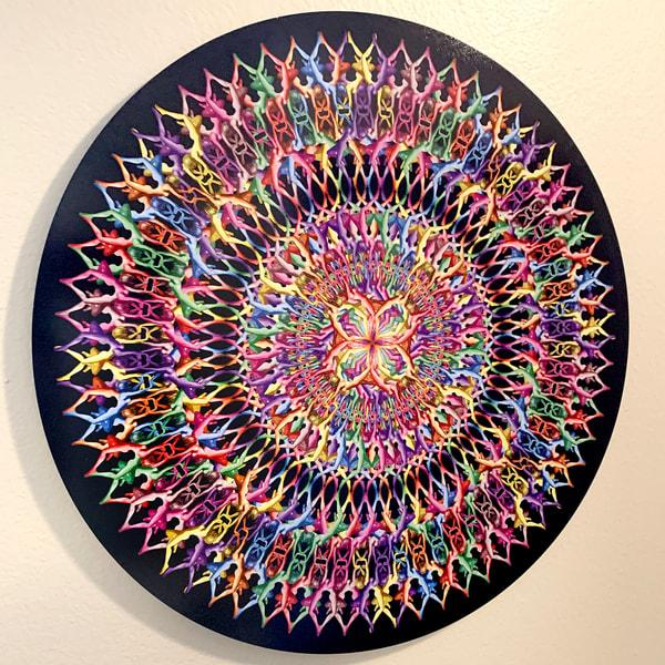 #1  Chrystal Color Art | geometricphotographica