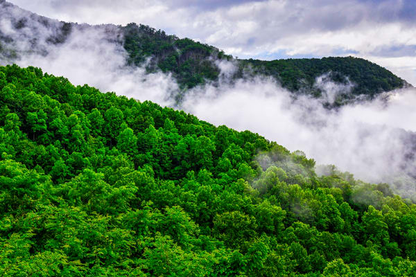 Nantahala Clouds Rising Photography Art | Andy Crawford Photography - Fine-art photography