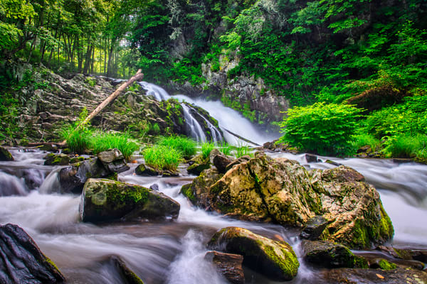 Whiteoak Creek Waterfall - fine-art photography prints