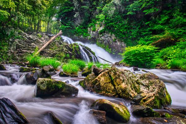 Whiteoak Creek Waterfall Photography Art | Andy Crawford Photography - Fine-art photography