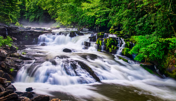 Nantahala River Waterfall - fine-art photography prints