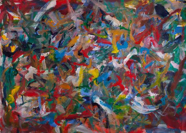 """Into The Mist"" Original Art   Daniel Kanow Fine Art"