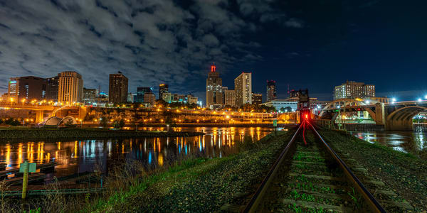 Train Tracks To St Paul Photography Art | William Drew Photography