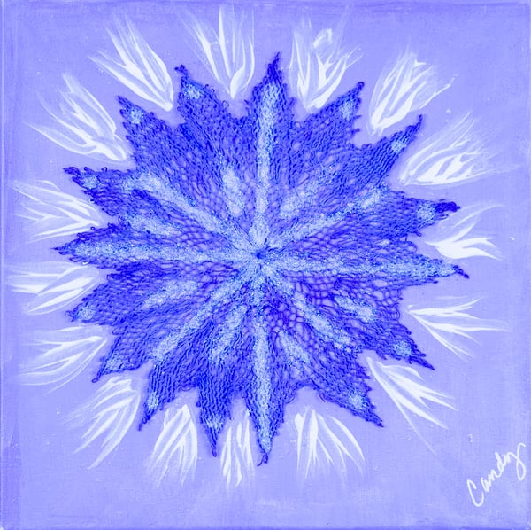 Blueberry Burst Art | Candy Country