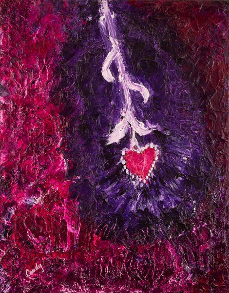 Guitar Heart Art   Candy Country