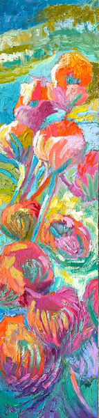 Stand Tall & Bloom | Dorothy Fagan Joy's Garden