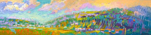 Peaceful Valley | Dorothy Fagan Joy's Garden