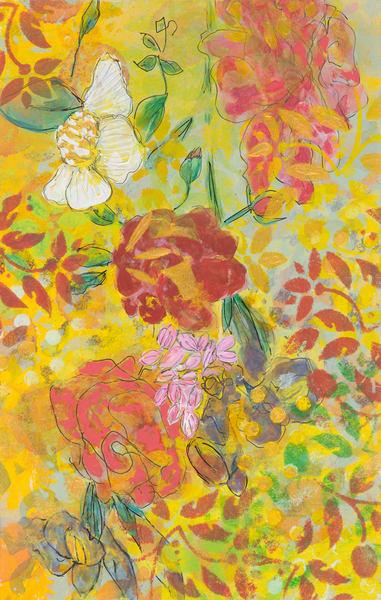 Flower Power P Art | Debbie Dicker - Art