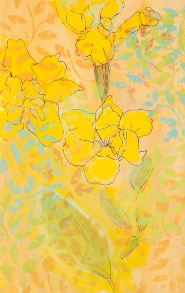 Garden Flower # 1 P Art | Debbie Dicker - Art
