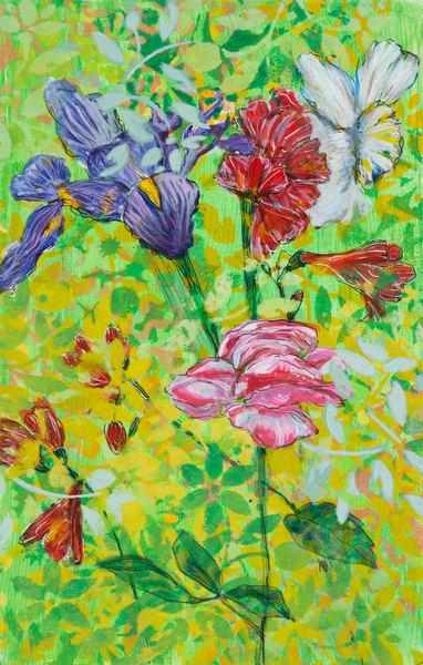 Spring Bouquet P Art | Debbie Dicker - Art