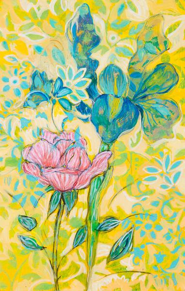 Garden Flower #2 P Art | Debbie Dicker - Art