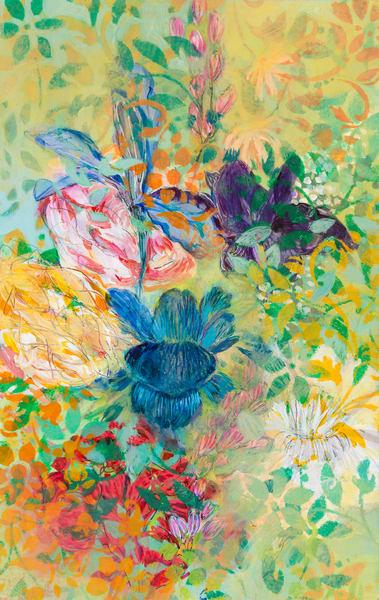 Flower Impressions P Art | Debbie Dicker - Art