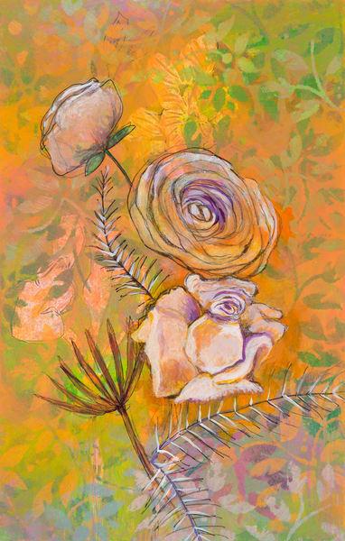 Garden Flower # 8 P Art | Debbie Dicker - Art
