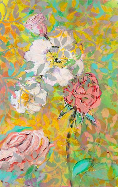 Garden Flower #5 P Art | Debbie Dicker - Art