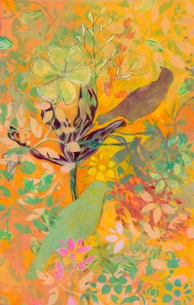 Garden Flower #4 P Art | Debbie Dicker - Art