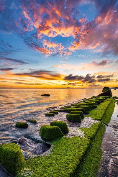 Relic Sunrise Ii Art   Teaga Photo
