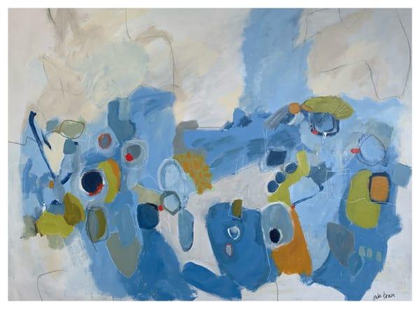 Blue Energy I Art | Julie Brown Art