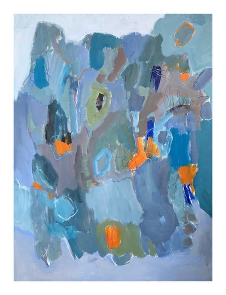 Blue Energy Ii Art | Julie Brown Art
