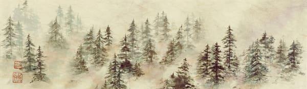 Foggy Trees     Art   donnadacuti