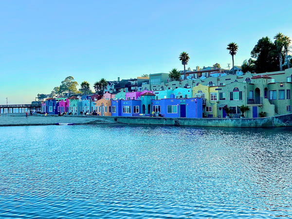 Capitola Art | Coat Of Many Colors