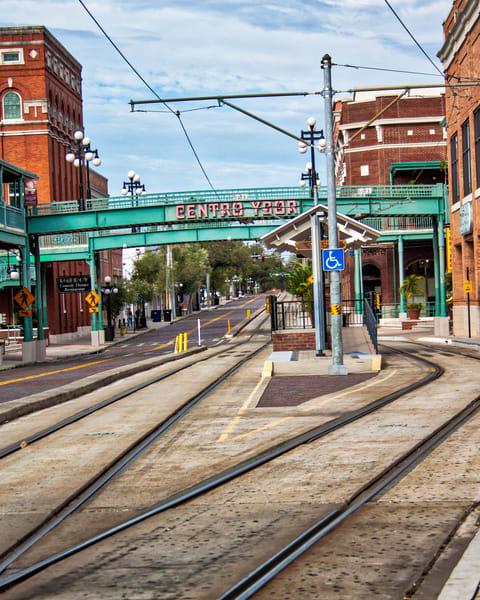 Ybor Trolley Station Photography Art | It's Your World - Enjoy!