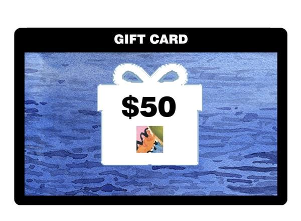 $50 Gift Card | Machalarts Watercolor Studio