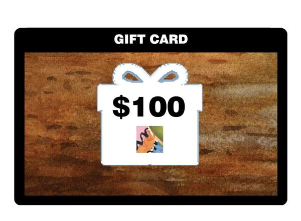 $100 Gift Card | Machalarts Watercolor Studio