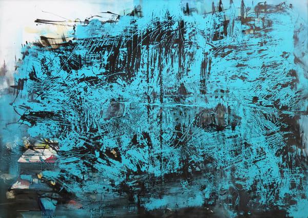 Blue Intelligence Art   Merita Jaha Fine Art