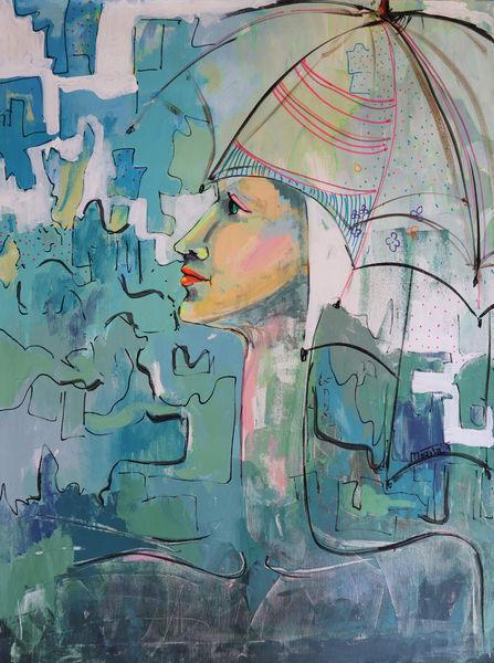 Mystic Portrait Art   Merita Jaha Fine Art