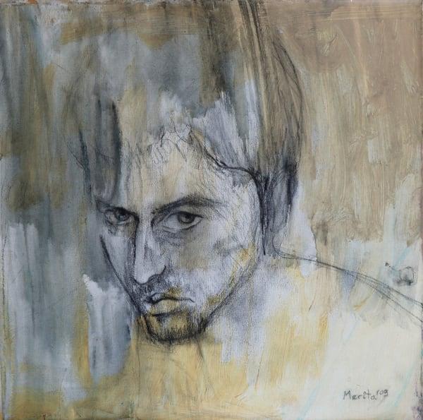 Monochrome Portrait Art   Merita Jaha Fine Art