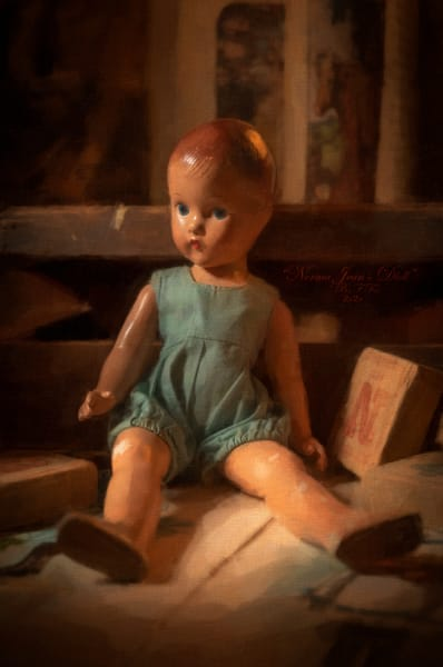Norma Jean's Doll, Open Edition,