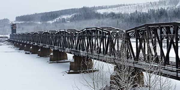 CN Train Bridge No 1 | Terrill Bodner Photographic Art