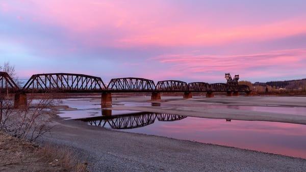 CN Train Bridge No 2 | Terrill Bodner Photographic Art