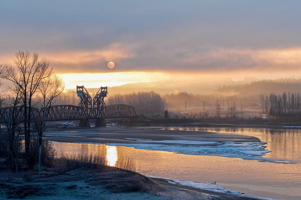 CN Train Bridge No 4 | Terrill Bodner Photographic Art