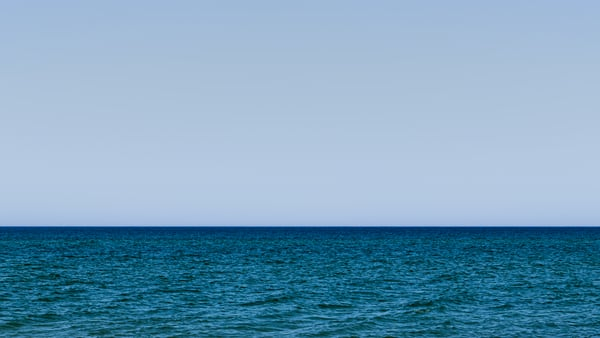 Lake Michigan Minimal Photography Art | Spry Gallery
