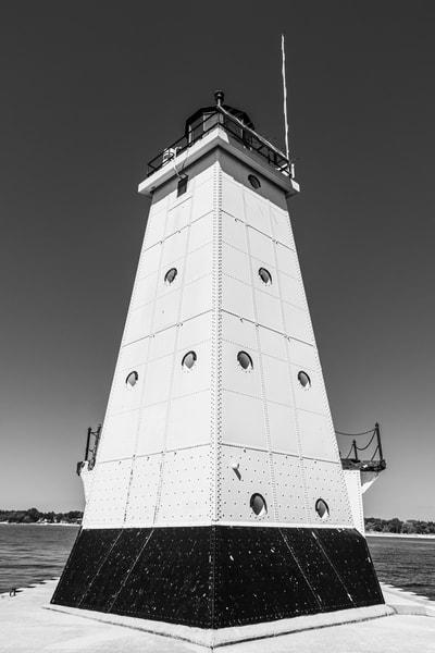 Ludington Lighthouse Photography Art | Spry Gallery