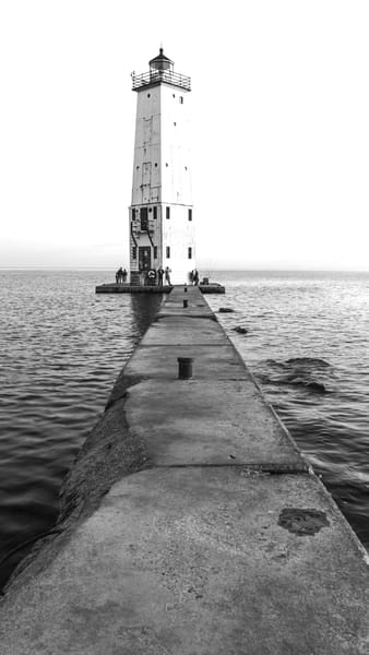 Frankfort Lighthouse Photography Art | Spry Gallery