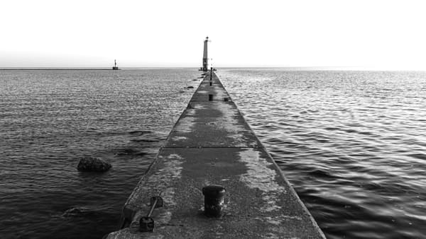 Frankfort Pier Photography Art | Spry Gallery