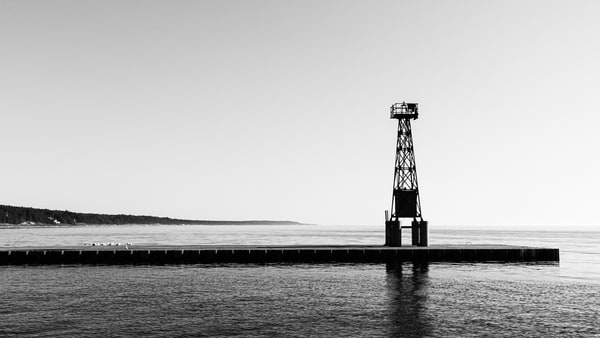 Pentwater Lighthouse Photography Art | Spry Gallery