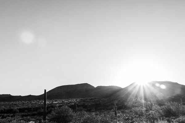 Desert Sunset Photography Art | Spry Gallery