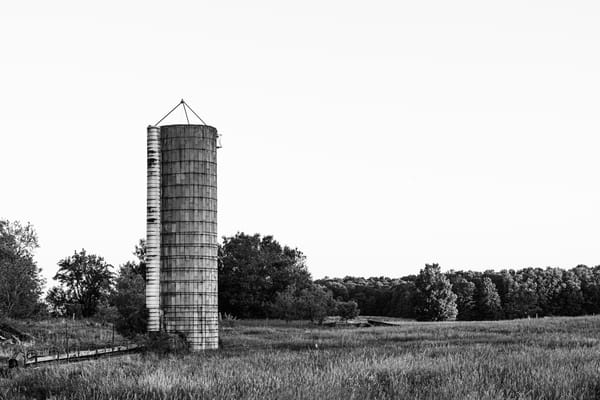 Silo Ruins Photography Art   Spry Gallery