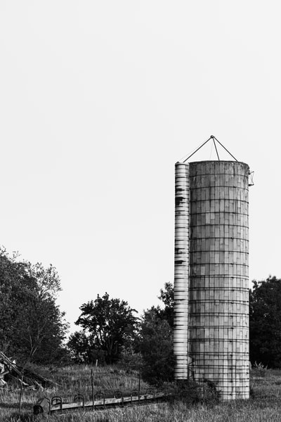 Silo Ruins Photography Art | Spry Gallery