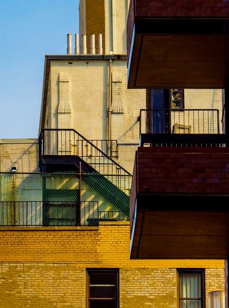 Two Balconies, New York City Photography Art | Ben Asen Photography