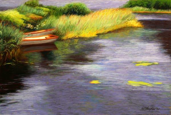Rowboats In Scotland Art | Helen Vaughn Fine Art