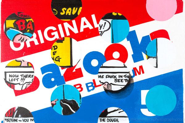 Bazooka Comic Dots Art | Jeff Schaller