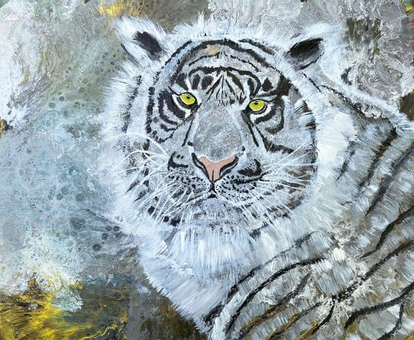 Endangered Siberian Tiger 2 Art | Rowena Art Shop