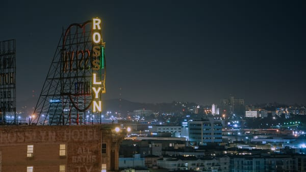 Rooftop Of The Hotel Rosslyn Photography Art   Cid Roberts Photography LLC