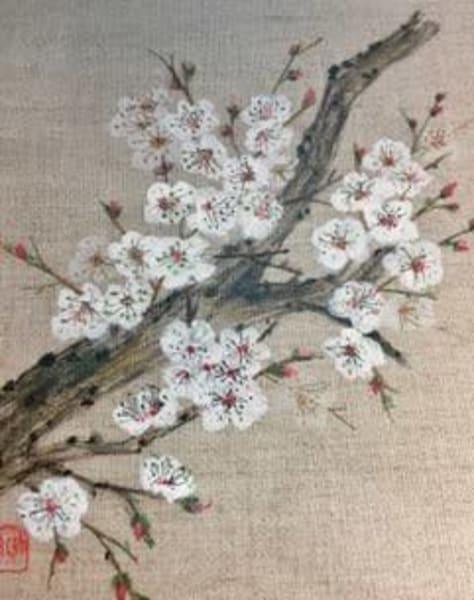 White Blossoms Art | donnadacuti
